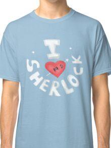 I <3 Sherlock Classic T-Shirt