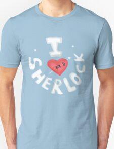 I <3 Sherlock T-Shirt