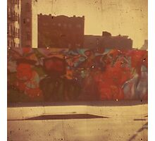 graffiti in Red Hook, Brooklyn Photographic Print