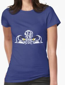 Sight beyond sight Womens Fitted T-Shirt