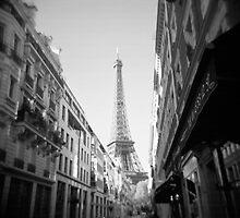 Rue de Monttessuy by Lisa Blair