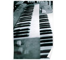 Dusty Old  Organ  Poster