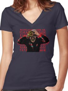 The Killing Nightmare Women's Fitted V-Neck T-Shirt