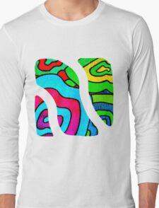 BINGE - Psychedelic artwork Long Sleeve T-Shirt