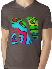 BINGE - Psychedelic artwork Mens V-Neck T-Shirt