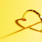 heart of gold by lensbaby
