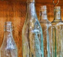 Bottles Antique Style Sticker