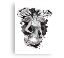 Corseted! Canvas Print