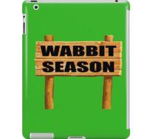 Wabbit season iPad Case/Skin