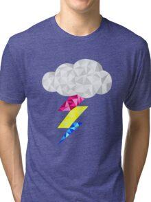 Pansexual Storm Cloud Tri-blend T-Shirt
