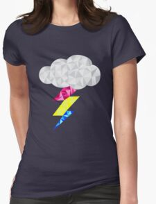 Pansexual Storm Cloud Womens Fitted T-Shirt