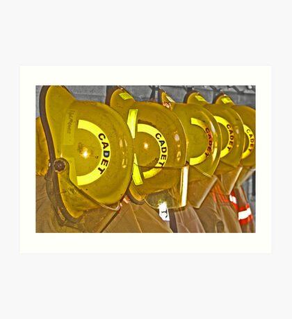 Cadet Art Print