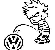 P*** on Volkswagen. by freshtech