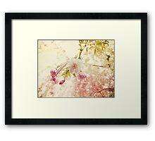 Spring bling Framed Print