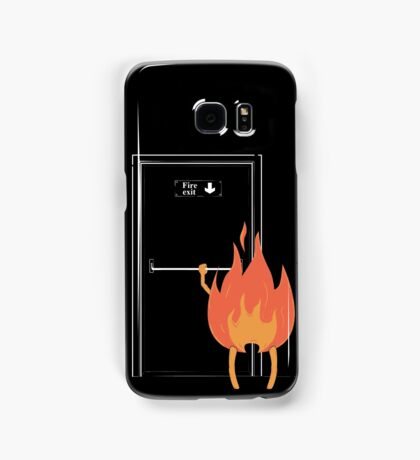Fire exit Samsung Galaxy Case/Skin