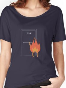 Fire exit Women's Relaxed Fit T-Shirt