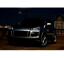 PORSCHE CAYENNE GTS FRIDAY THE 13TH EDITION!! Photographic Print