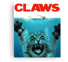 Meow Claws Parody Canvas Print