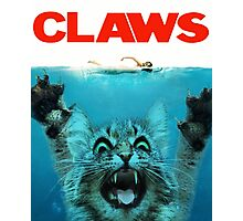 Meow Claws Parody Photographic Print