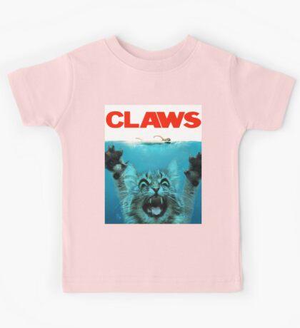 Meow Claws Parody Kids Tee