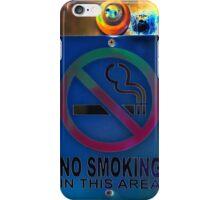 No smoking. iPhone Case/Skin