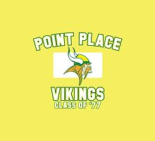 Point Place Vikings Class of '77 (un-worn) by huckblade