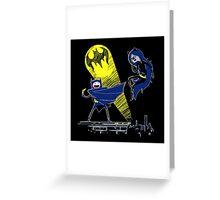Gotham Knight Finn and Lumpy Parody Greeting Card