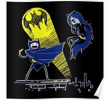 Gotham Knight Finn and Lumpy Parody Poster