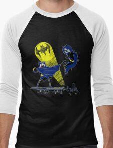 Gotham Knight Finn and Lumpy Parody Men's Baseball ¾ T-Shirt