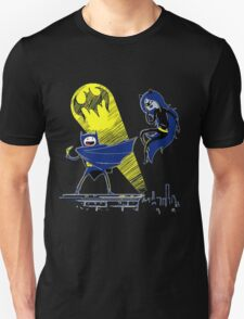 Gotham Knight Finn and Lumpy Batman Parody T-Shirt