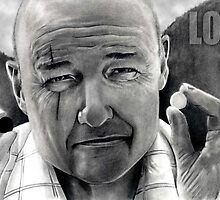 John Locke Talking to Walt by JasonCaseyArt