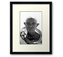 Samburu Tribe woman Framed Print
