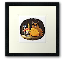 Pikachu Neighbour Framed Print