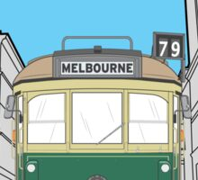 Melbourne Heritage Tram Sticker