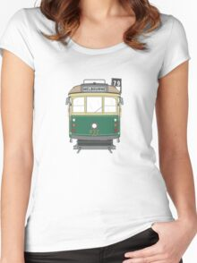 Melbourne Heritage Tram Women's Fitted Scoop T-Shirt
