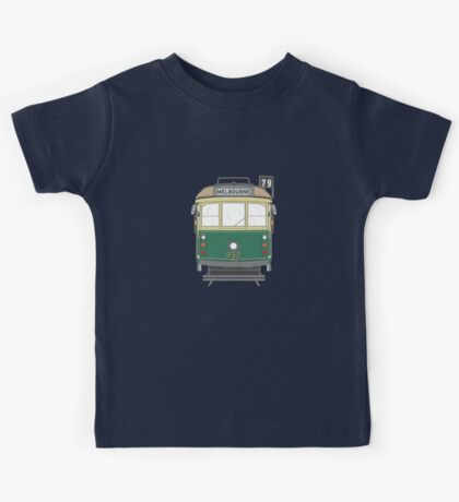 Melbourne Heritage Tram Kids Tee