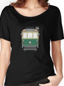 Melbourne Heritage Tram Women's Relaxed Fit T-Shirt