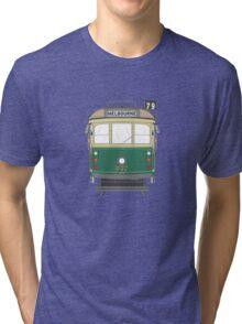 Melbourne Heritage Tram Tri-blend T-Shirt