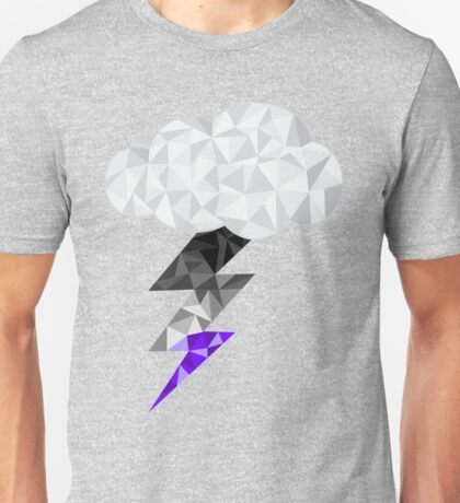 Asexual Storm Cloud Unisex T-Shirt