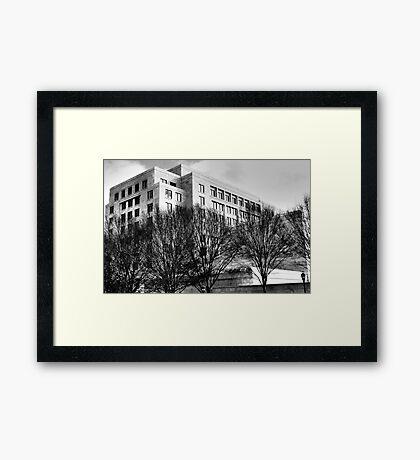 Atlanta Federal Reserve Building II Framed Print