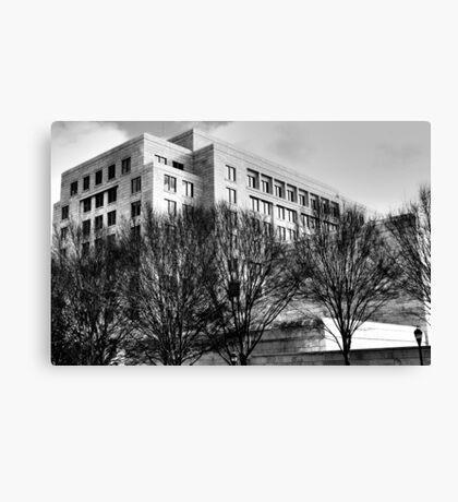 Atlanta Federal Reserve Building II Canvas Print