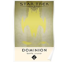 Dominion Battle Cruiser Poster
