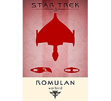 Romulan Grand Executioner Photographic Print
