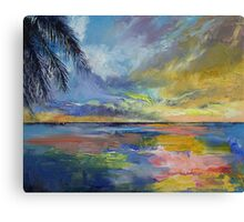 Islamorada Sunset Canvas Print