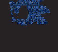Sonic Typography by TitanVex