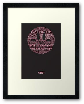 Kirby Typography by TitanVex