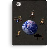 Rocking All Over  The World Canvas Print