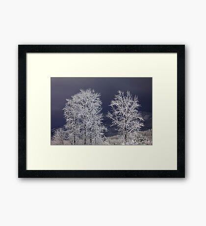 Stille Nacht (Silent Night) Framed Print