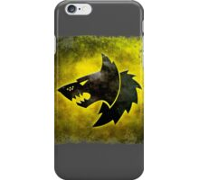 Wolf Icon iPhone Case/Skin