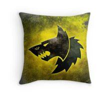 Wolf Icon Throw Pillow